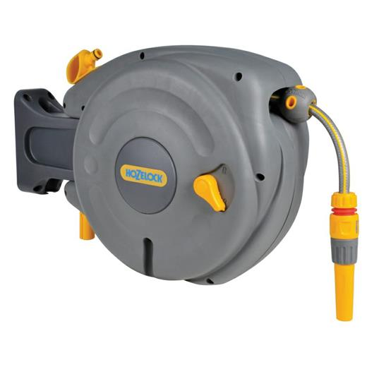 Hozelock Mini Auto Reel Wall Mounted Reel with 10m Hose