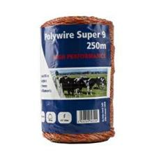 FENCEMAN POLYWIRE 9 STRAND 250M