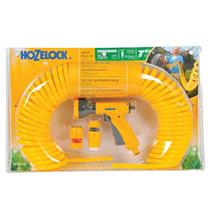 Hozelock Spiral Hose 15m Yellow