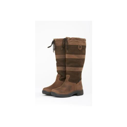 DUBLIN RIVER BOOTS CHOCOLATE WIDE FIT