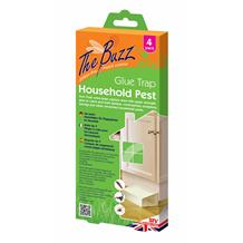 4 Pack Household Pest Glue Trap