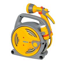 Hozelock Pico Reel With Hose/Fittings Spray Gun 10M