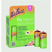 THE BUZZ FLY PAPERS 8PK