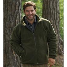 GLEN FLEECE OLIVE