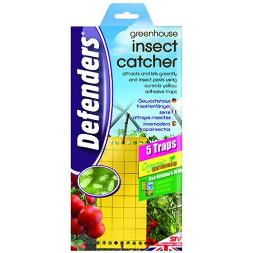 5 Traps Greenhouse Insect Catcher