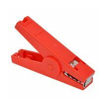 SINGLE CROCODILE CLIP RED