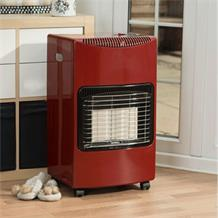 SEASONS WARMTH 4.2KW RADIANT RED CABINET HEATER LD468A
