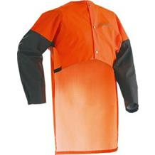 HUSQVARNA RAIN BACK PROTECTOR WITH SLEEVES ONE SIZE