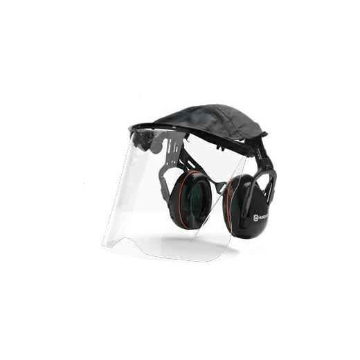 HUSQVARNA HEARING PROTECTION WITH PERSPEX VISOR
