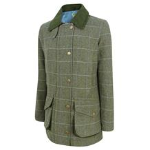 HOGGS ALBANY LADIES LAMBSWOOL W/P SHOOTING COAT TWEED
