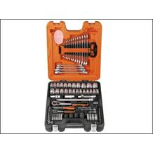 Bahco 94 Piece Assorted Socket & Spanner Set