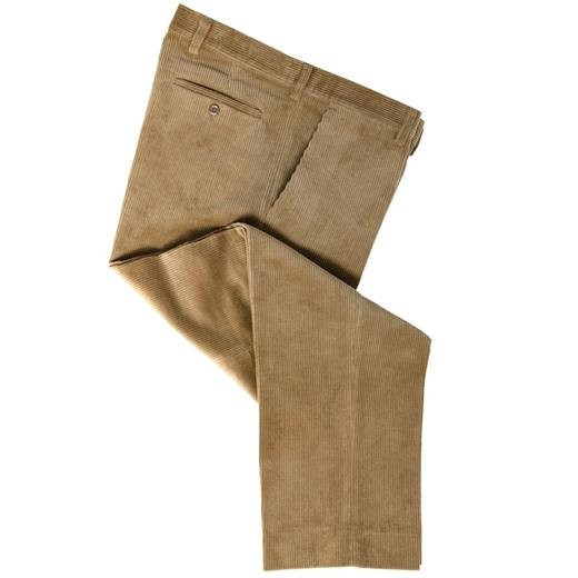 HOGGS MID-WEIGHT CORD TROUSERS BEIGE