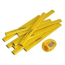 Carpenter's Pencils Tube of 10 + Versa Sharpener