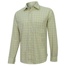 HOGGS COTTON TATTERSALL TAN/NAVY/GREEN SHIRT