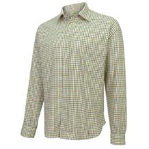 HOGGS PURE COTTON TATTERSALL WINE/BLUE/GREEN SHIRT