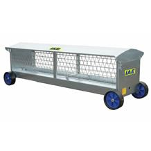 10f Long Sheep Hayrack On Wheels