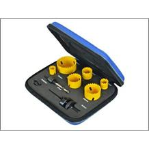 Faithfull 9 Piece Professional Holesaw Set
