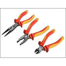 Faithfull 3 Piece VDE Plier Set