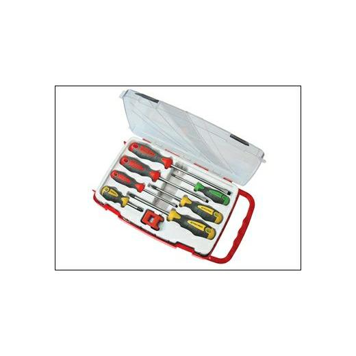 Screwdriver Soft Grip Set of 8