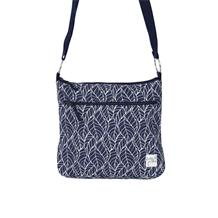 PRINTED CROSS BODY BAG LEAVES