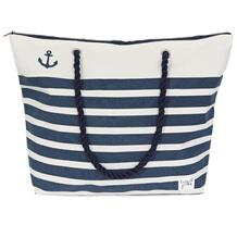 CANVAS BEACH BAG STRIPE
