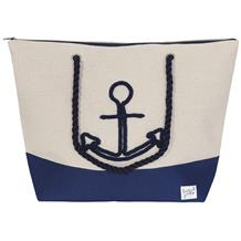 CANVAS BEACH BAG ANCHOR