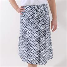 printed jersey skirt cherry blossom