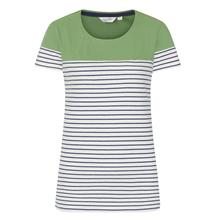 SHORT SLEEVE PANEL BRETON TOP SPRING GREEN