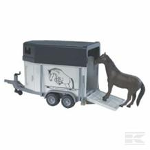 BRUDER HORSEBOX WITH A HORSE