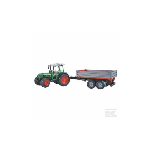 FENDT WITH TRAILER