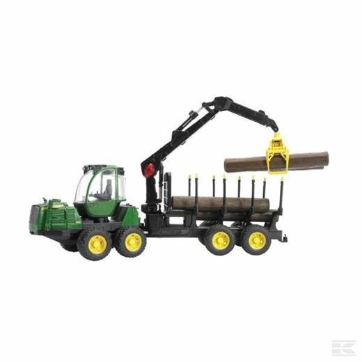 JOHN DEERE FORWARDER FORESTRY MACHINE