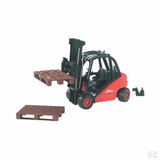 LINDE FORK LIFT H30D WITH TWO PALLETS