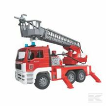 BRUDER FIRE ENGINE WITH LADDER AND SOUND MODULE
