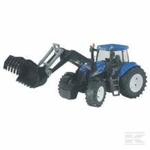 NEW HOLAND  W/FRONT LOADER TOY T8040