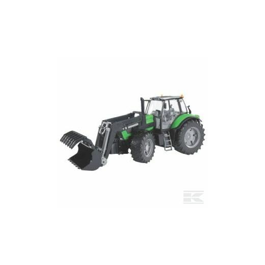BRUDER DEUTZ-FAHR AGROTRON X720 AND LOAD