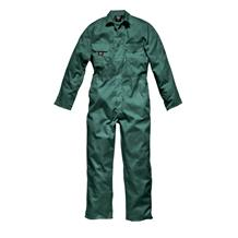 DICKIES LINCOLN GREEN STUD COVERALLS
