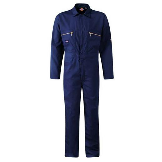 DICKIES NAVY COVERALLS ZIP