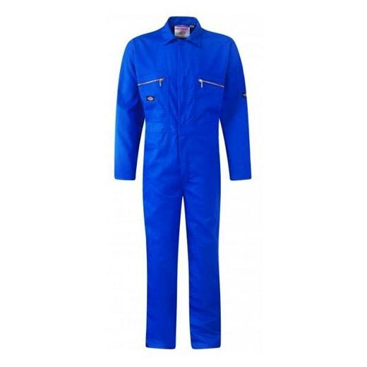 DICKIES ROYAL BLUE COVERALLS ZIP