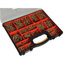 Forgefix 1,500 Piece Screw Assortment in Organiser