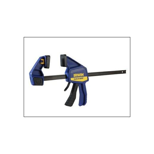 "IRWIN 12"" MEDIUM DUTY ONE HANDED CLAMP BUY ONE GET ONE FREE"
