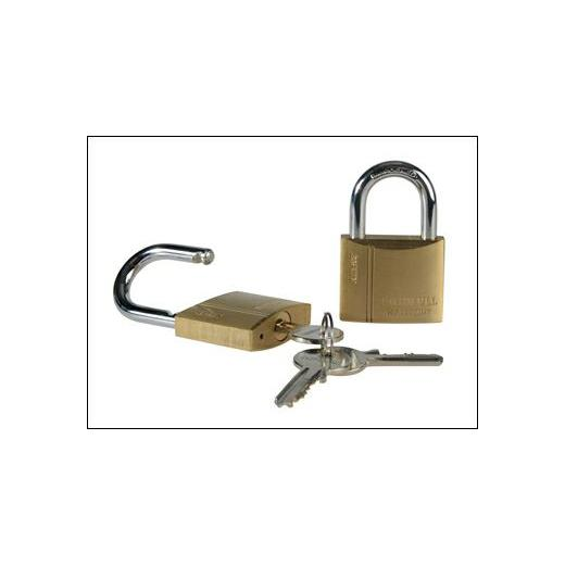 BRASS PADLOCKS 40MM X 2