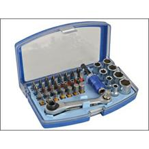 F/FULL 42PC RATCHETING BIT SET & SOCKETS